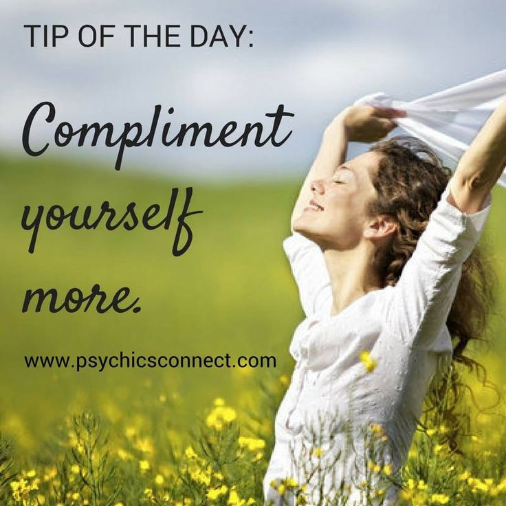 Compliment yourself more. Have a journal/ notebook and pen ready. Every morning, grab your journal and write yourself three compliments. Look at the mirror and read them out loud. As you do this, you will experience improvement in your ability to love and accept yourself.