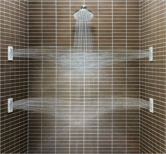 Multiple Showerheads And Body Sprays Are A Must Have In Today S Luxury Bathroom