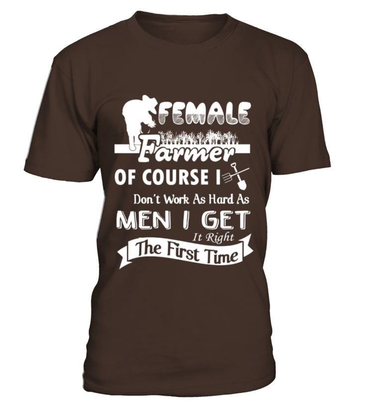 Female Farmer Shirt   Womens Scoop Neck T Shirt  #gift #idea #shirt #image #funny #job #new #best #top #hot #engineer