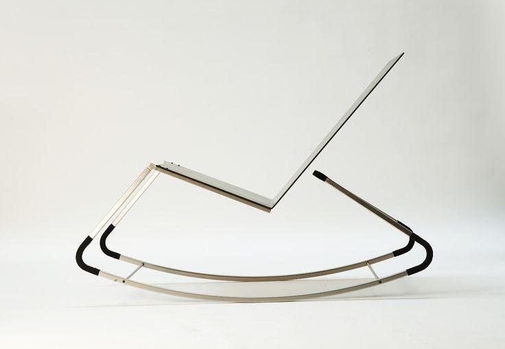 minimal rocking chair