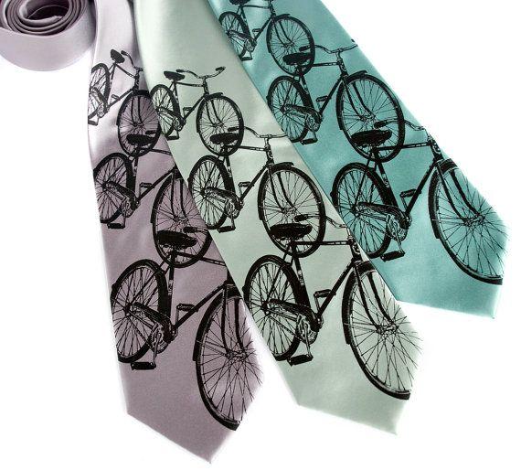 Bicycle ties.