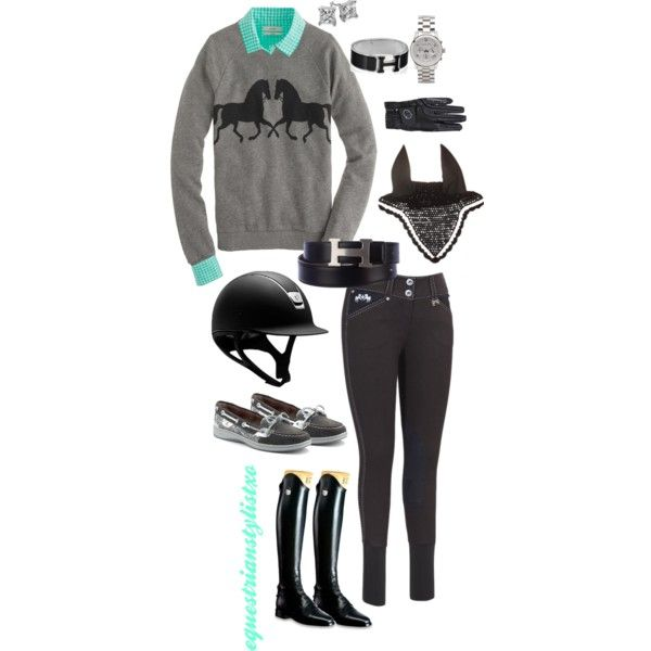 """Horsin' Around"" by adastaley on Polyvore"