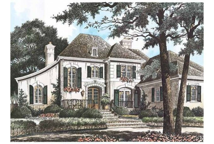 french chateau home plans - photo #11
