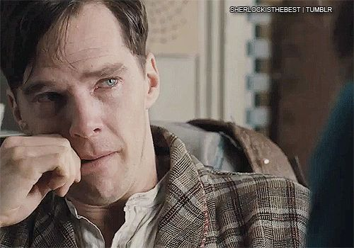 Benedict Cumberbatch is a brilliant actor. He can break your heart & stop your breath in a 1 second GIF.