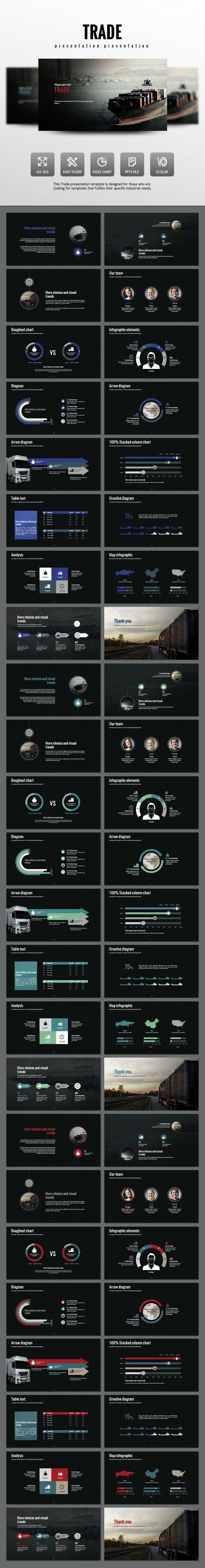 Trade PowerPoint Template #slides Download: http://graphicriver.net/item/trade/14528406?ref=ksioks