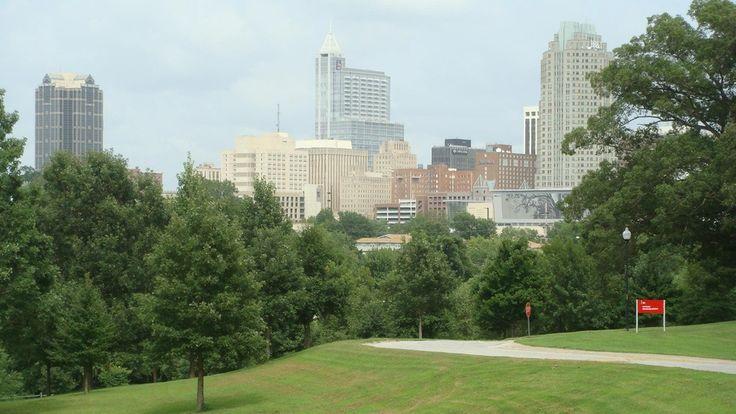 Raleigh, NC : Raleigh skyline
