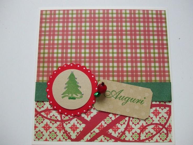 Biglietto Natale country abete, by chiarina, 2,80 € su misshobby.com