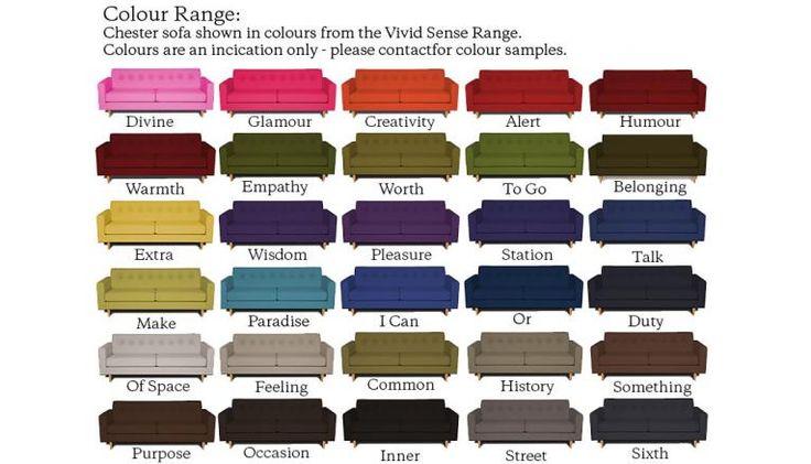 Chester Sofa Vivid samples
