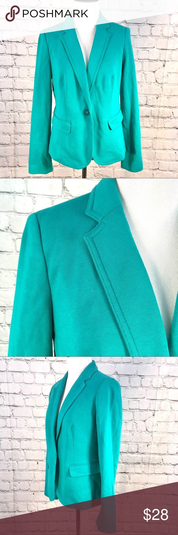 The Limited turquoise blazer S Excellent condition The Limited Jackets & Coats Blazers