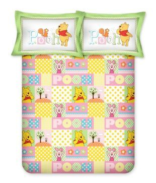 Bombay Dyeing Yellow Printed Cotton Single Bedsheet With 1 Pillow Cover (Disney Classic) - Buy Bombay Dyeing Yellow Printed Cotton Single Bedsheet With 1 Pillow Cover (Disney Classic) Online at Low Price - Snapdeal