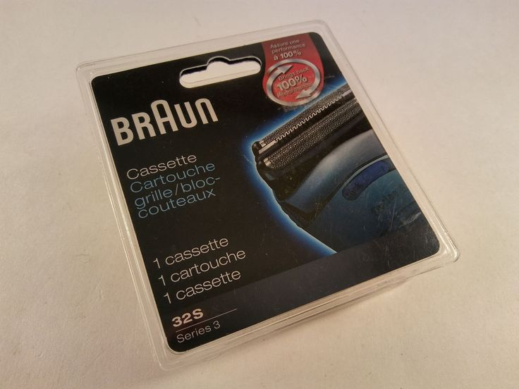 NEW! Braun Series 3 Shaver Cassette Silver 32S FREE SHIPPING! #Braun