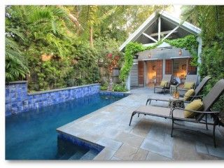 Key West House Rental: Tropical Key West Oasis Private Home 2br/2 Bath W/ Pool, Weekly Rental   HomeAway