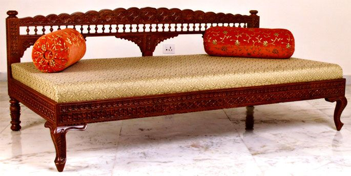 Diwan inspiration only indian drawing room pinterest for Diwan designs furniture
