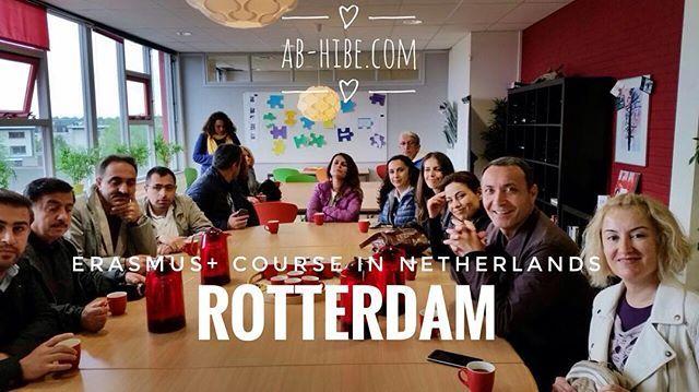 Erasmus+ Course in Netherlands, Would you like to join us? #erasmusplus #erasmus…