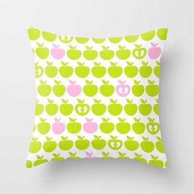 Apples Throw Pillow by Namia Design - $20.00
