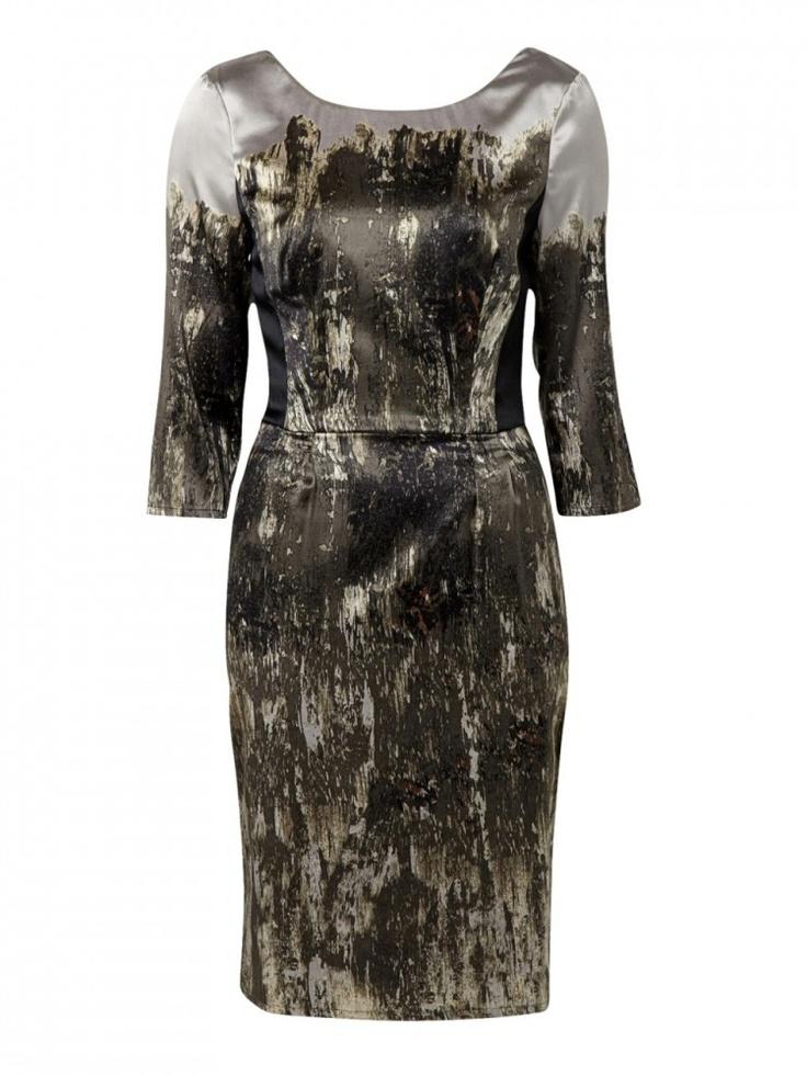 Smoke Print Dress - OJAY