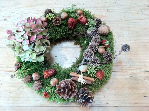Table Wreath Arrangement, Dekorasi Cantik untuk Meja | Majalah Griya Asri