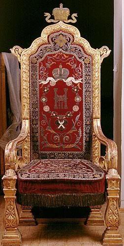 Trono del zar Nicolás II