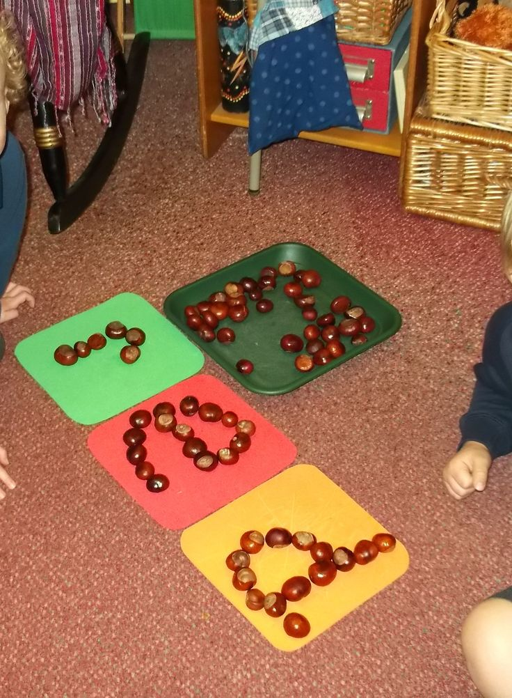 The children made up a game of making phonemes from conkers ... then thy worked together to make words... unprompted!
