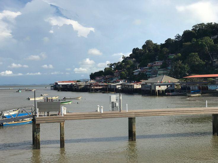 Town of La Palma in Darien, Panama