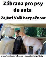 Zábrana pro psy do auta