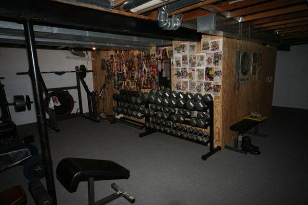 Best fitness garage gym images on pinterest