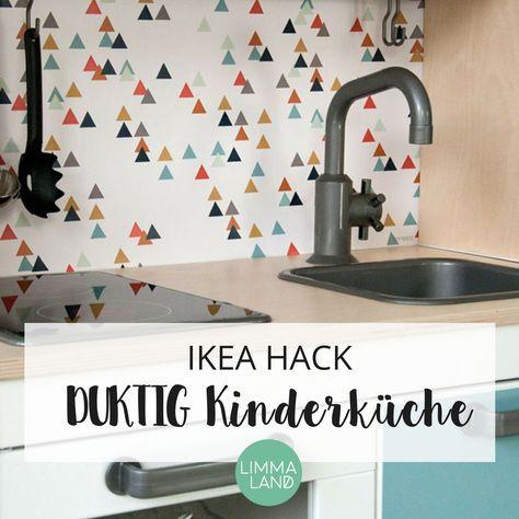 ... DUKTIG Kinderküche Aufzupimpen Und Selbst Umzugestalten. So Wird Das  Kinderzimmer Durch DIY Ideen Und Klebefolien Zum Richtigen Hingucker Und  Die Töpfe ...