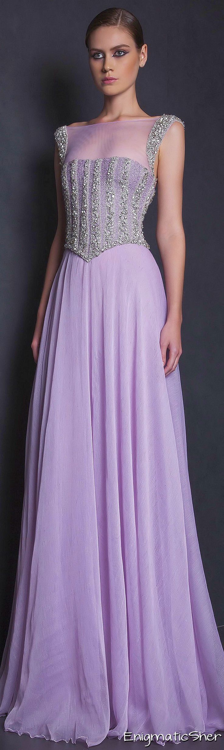 Glamour Gown..Tony Ward Spring-summer 2015 Ready-to-Wear