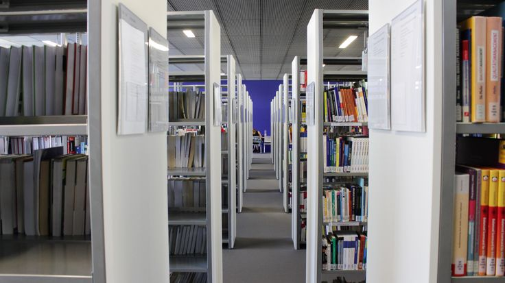 Hochschule Neu-Ulm   Unsere moderne Hochschul-Bibliothek <3