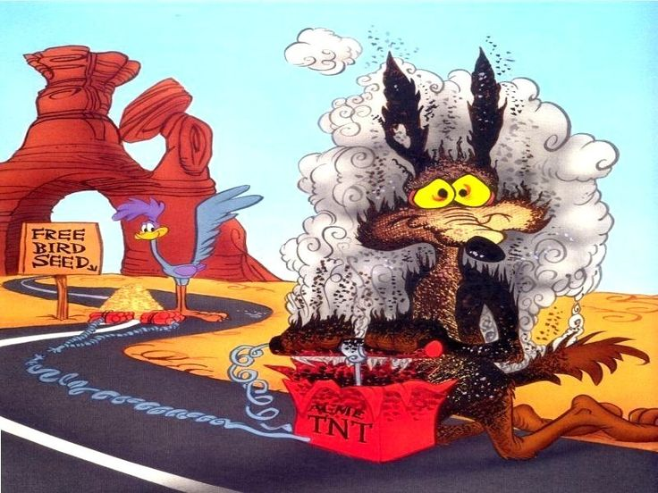 wiley coyote facebook quotes   Maybe Wile E. Coyote needs a defocused tester …   Looney tunes cartoons, Looney tunes characters, Classic cartoons