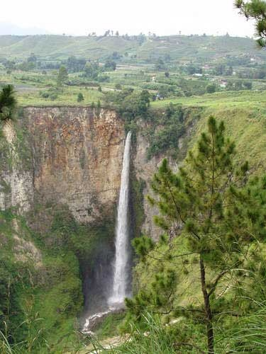 Sipiso-Piso Waterfall, Tanah Karo, North Sumatera