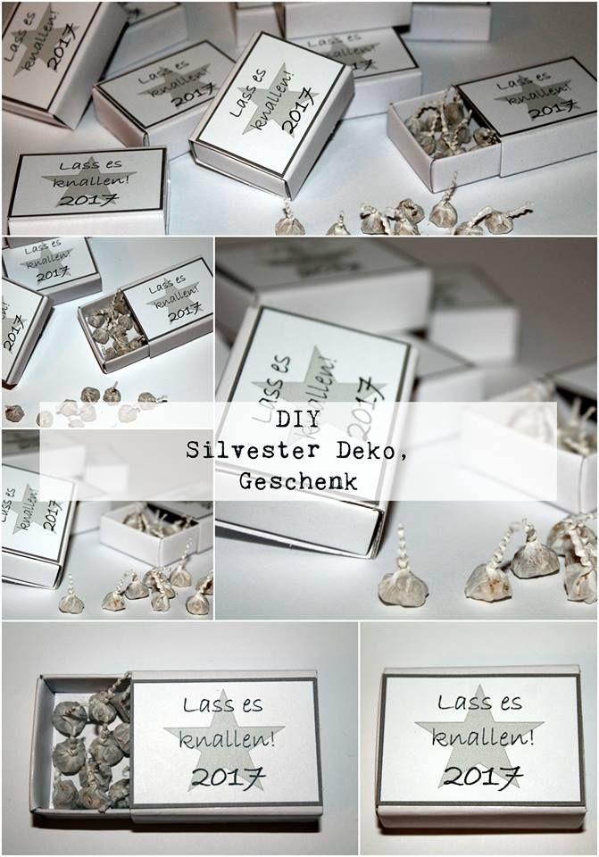 168 best Süße Streichholzschachtel ❤ images on Pinterest - silvester deko selber machen