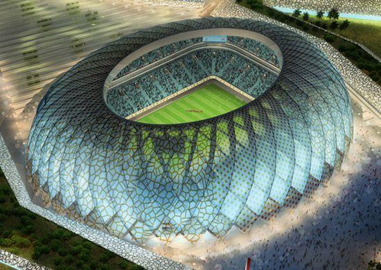 albert speer & partner: qatar stadiums 2022 FIFA world cup #architecture ☮k☮