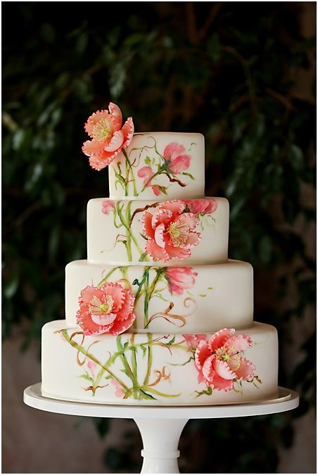 Another gorgeous hand painted cake