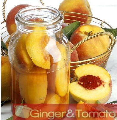 Come preparare la frutta sciroppata e conservare la frutta | Ginger & Tomato