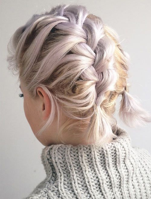 Pigtail braids by Libby Clark