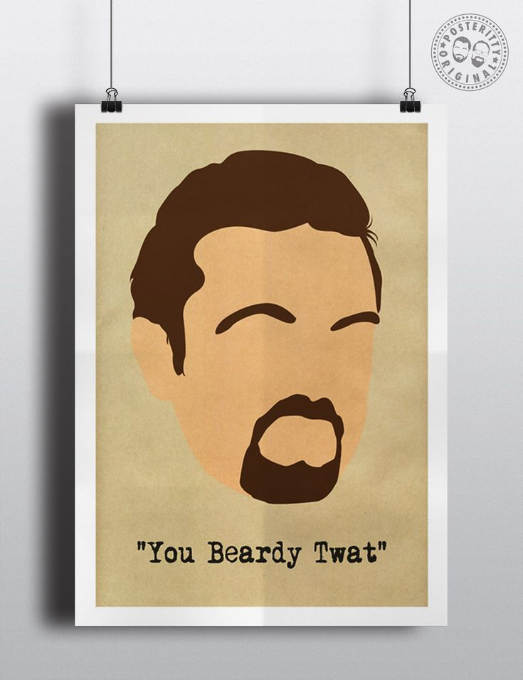 #posteritty #theoffice #rickygervais #davidbrent #quote #poster #brentsback #beardytwat