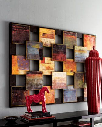 John-Richard Collection Blocks Abstract Art - traditional - artwork - Horchow