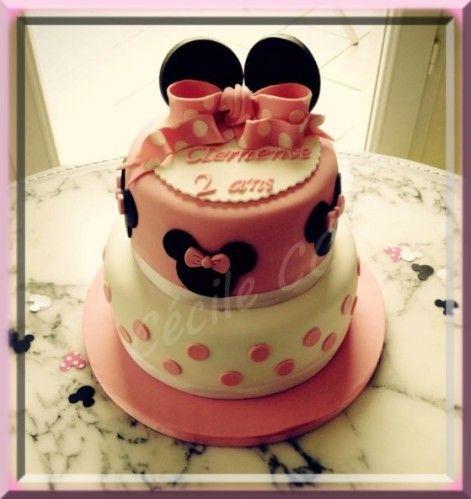 Gâteau Minnie.