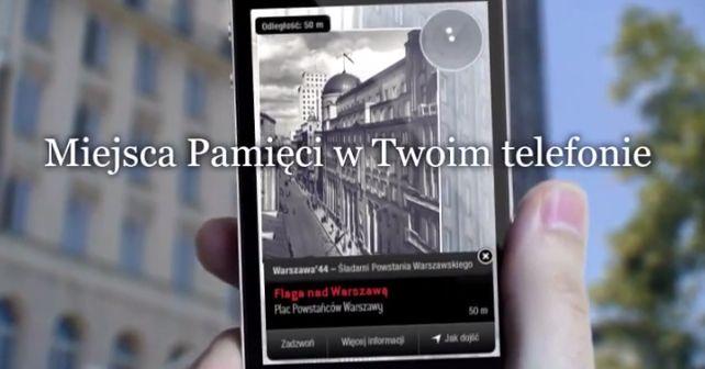 Śladami Powstańców ze smartfonem w ręku lub w czasie gry #mobile #PW1944 #PW44 #Warszawa