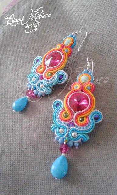 Tiziana Earrings Eliana Maniero design - 2013