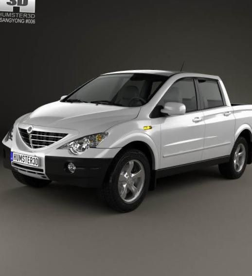 SsangYong Actyon approved - http://autotras.com