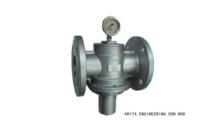 Van giảm  áp inox Stainless Steel Pressure Reducing Valve Flanged End