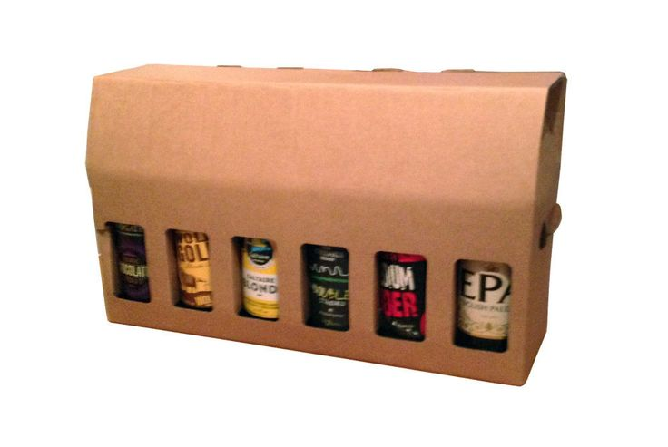 12 Beer Bottle Presentation Box - Pack of 10 - Home Brewery Packaging