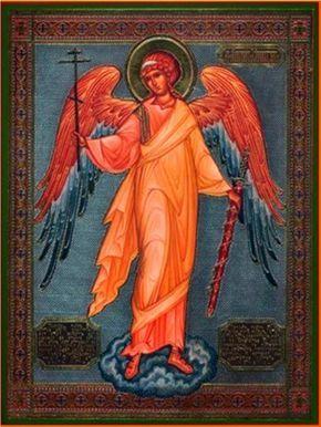 Dios te salve, ángel de Dios,  mi ángel protector, mi ángel de la guarda,   espíritu de luz purísimoybienaventurado,   en quien ademá...