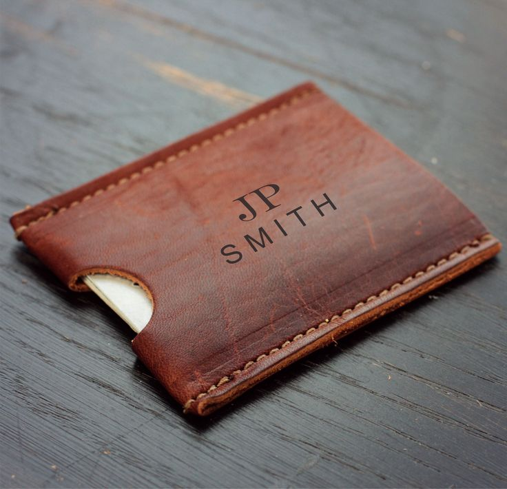Best 25+ Leather business card holder ideas on Pinterest | DIY ...