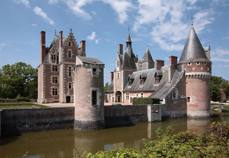Château du Moulin  (Loir et Cher) Vue arrière