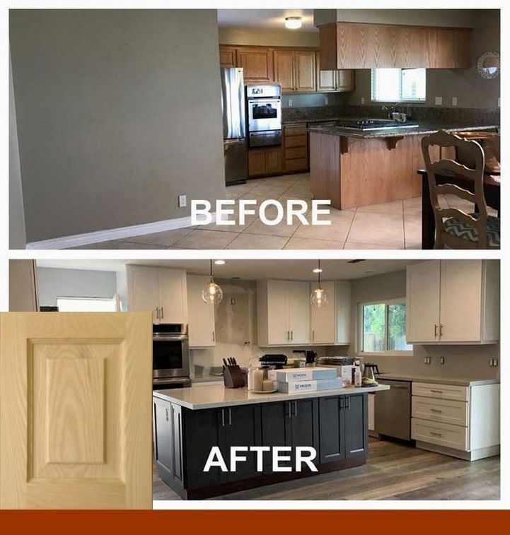 U Shaped Kitchen Remodel Before And After Kitchen Remodel Before And After Build A Closet U Shaped Kitchen