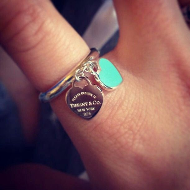 Tiffany and Co. rings. I have the bracelet and didn't know they had a ring ... Now I need it in my life!!
