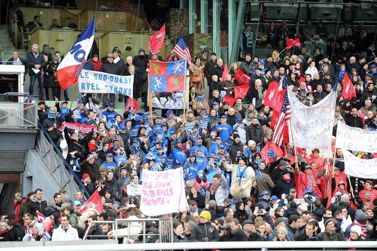 La foule s'était déplacée en masse pour l'occasion